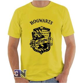 Camiseta Hufflepuff Lufa-lufa Hogwarts Harry Potter