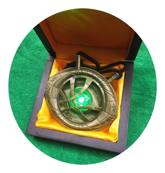Collar Replica Dr Strange Doctor Ojo De Agamotto Eye Dije