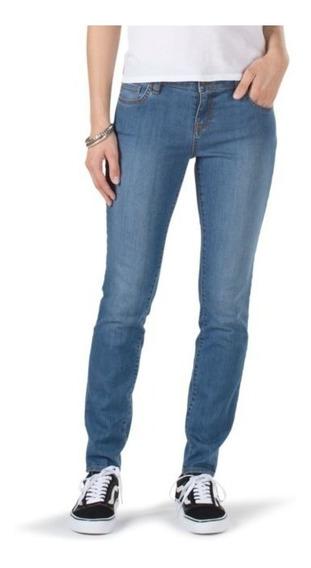Pantalones Vans Skinny Mezclilla Jeans Denim Urban Beach