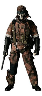 Metal Gear Solid 3 Snake Eater Medicom Rah Real Figura De Ac