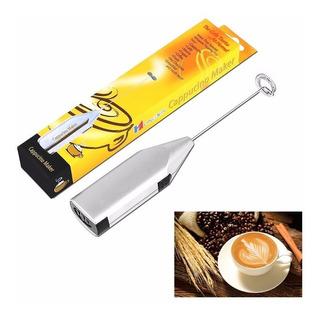 Batidor De Cafe Inalambrico, A Pila, Cafe Espumoso A Un Clic