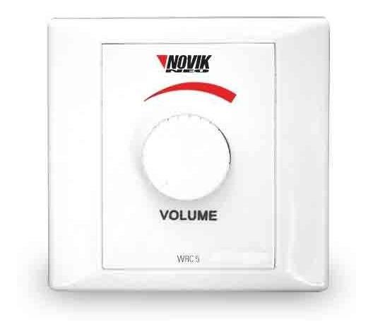 Controlador De Volume Para Som Ambiente Novik Wrc-5