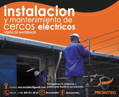 Instalación De Cerco Eléctrico, Venta De Materiales.