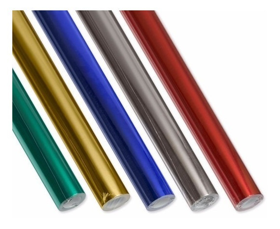 Rollo De Papel Glace Metalizado Luma (1502542)