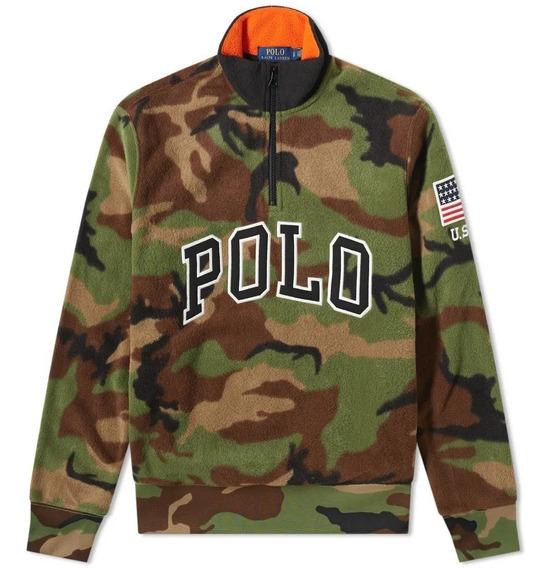 Sudadera Polo Ralph Lauren Camo Fleece Jumper Original