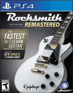 Rocksmith 2014 Edition Remasterizado - Playstation 4 Edición