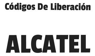 Códigos De Liberación Alcatel Tienda Guatire Ragazzo1985