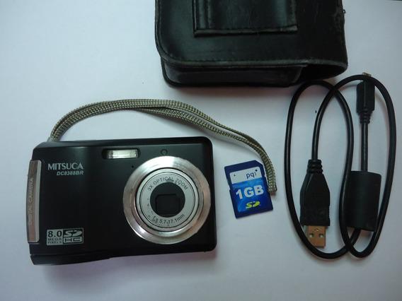 Câmera Digital Mitsuca Dm8393br - Usada