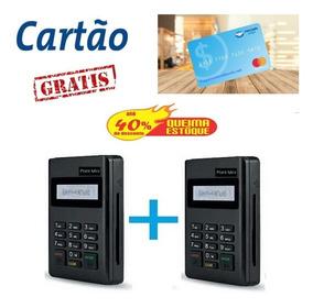 2 Maquinas De Cartão Do Mercado Pago - Minizinha - Leitor