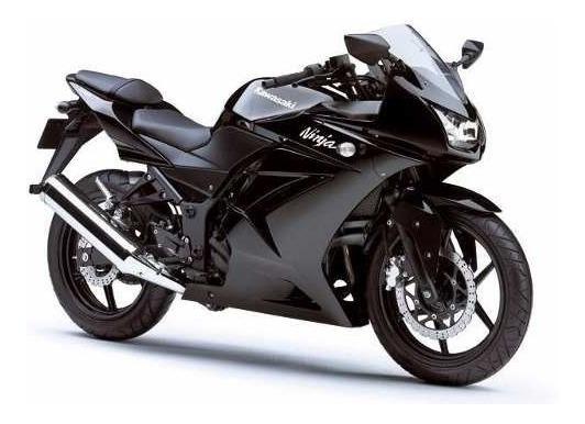 Peças Para Kawasaki Ninja 250 Preta 2009-2012