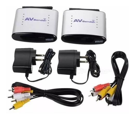 Transmissor Audio/video +extensor S/ Fio Av Sender
