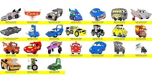 Cars Coleccion De Diseños, Matrices Para Llegar Y Bordar