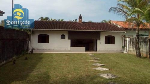 Casa Com 3 Dormitórios À Venda, 150 M² Por R$ 585.000,00 - Morada Praia - Bertioga/sp - Ca0705