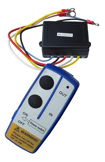 Controle Remoto Wireless P/ Guincho Elétrico 12v Universal