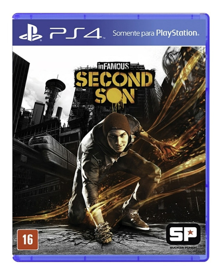 Infamous Second Son Hits - Ps4 Mídia Física Lacrado