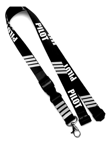 Lanyard Pilot 4 Barras Gris Remove Before Flight ®
