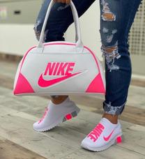 Combo Tenis Con Bolso Nike Ropa y Accesorios en Mercado