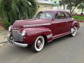 Gm. Chevrolet Cup Duas Portas 1941 Placa Preta