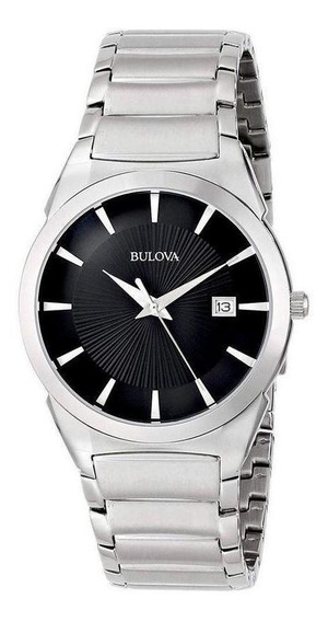 Relógio Bulova Classic Slim 96b149 Prata