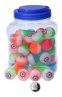 Bouncy Balls Bulk - Globo De Neon Colorido Halloween Bolas A