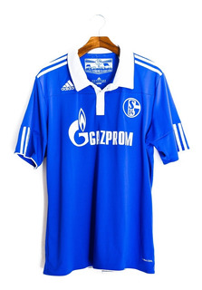 Camisas Masculinas De Futebol Schalke 04 2011/12 adidas Raul