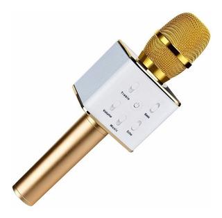 Microfono Karaoke Recargable Inalambrico Con Efectos 5w