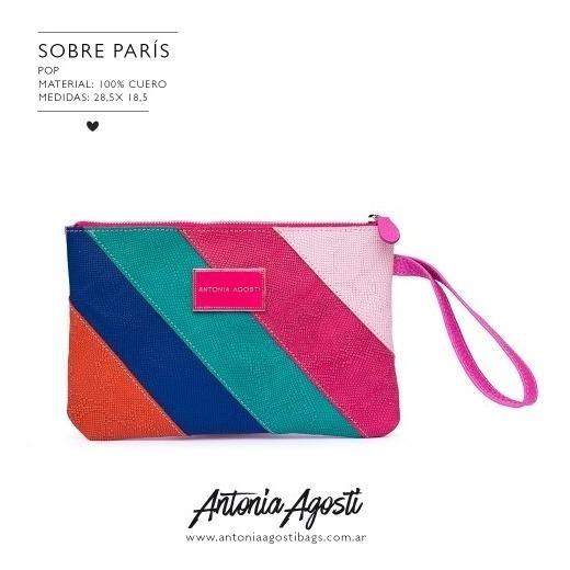 Sobre De Cuero Antonia Agosti- Modelo Paris
