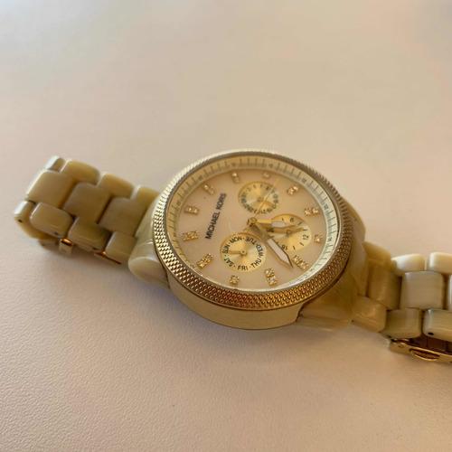 Relógio Michael Kors Tartaruga Bege