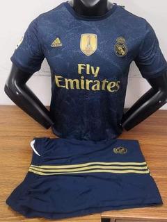 Conjunto Playera Y Short Real Madrid