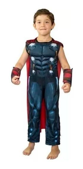 Disfraz Thor Con Musculos New Toys Original Educando