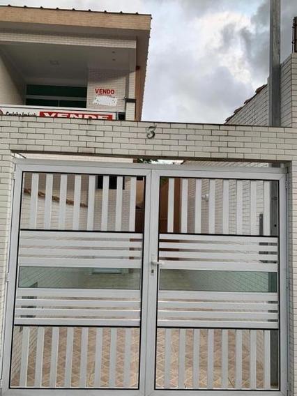 Sobrado Em Marapé, Santos/sp De 90m² 2 Quartos À Venda Por R$ 469.000,00 - So349652