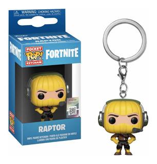 Funko Pop Keychain Fortnite Raptor Nortoys