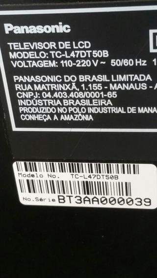 Display Tc-l47dt50b Panasonic 500$ ( Tela ). Boa E Testada
