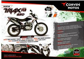 Corven Triax 250 R3 - Entrega Inmediata - 100% Financiada.