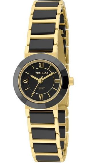 Relógio Technos Feminino Elegance 2035lwf/4p Preto