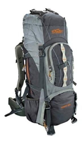 Bolso Morral Excursión Camping Con Raincover 60lt Ecology