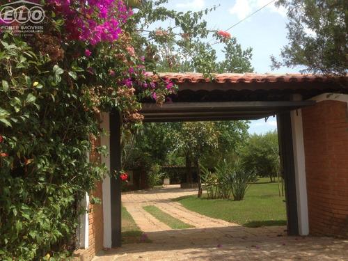 Imagem 1 de 30 de Linda Chácara A Venda No Condomínio Recanto Das Flores Em Indaiatuba . - Ch00379 - 34963237