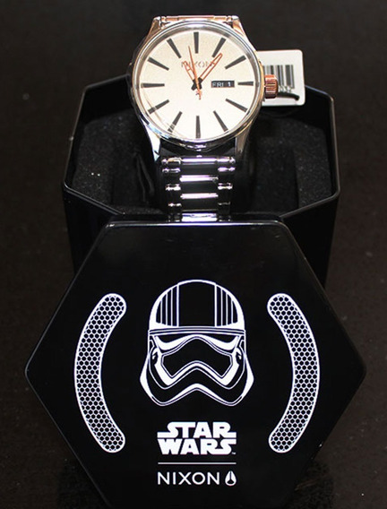 Relógio Novo Original Nixon Death Star Black, Star Wars Aus