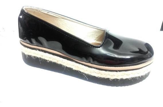 Zapatilla Pancha Zapato Plataforma Mujer Fiorcalzados
