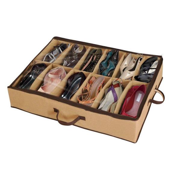 Sapateira Flexível De Chão 12 Pares Organizador Sapato Piso