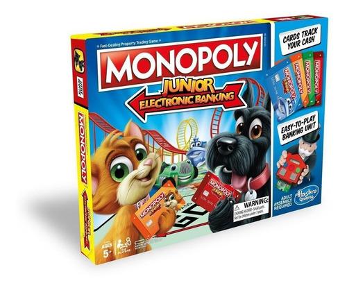 Monopolio Junior Banco Electronico Original Hasbro En Esp