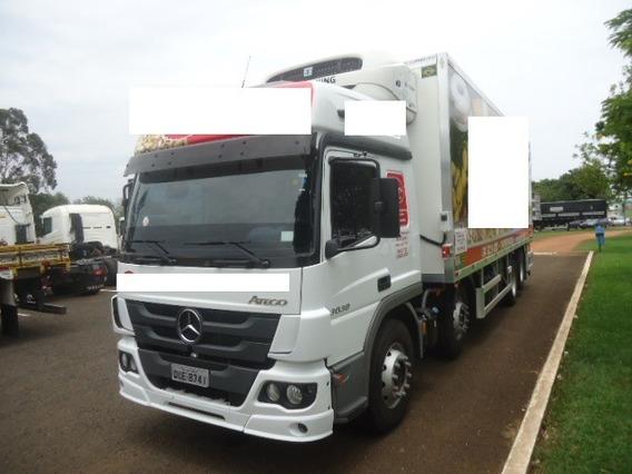 M. Benz Atego 3030 8x2 C/ Baú Hc Termo King 2019 (vt)
