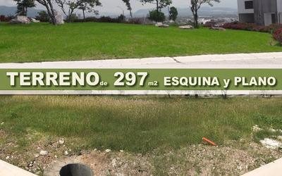 Terreno Plano Y En Esquina, Campestre Juriquilla - 297 M2, De Oportunidad !!