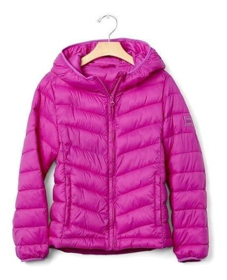 Campera Gap Kids Niña Fuxia Talle 13-14 De Usa