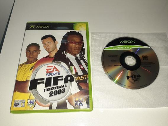 Fifa 2003 Xbox Clássico Europeu