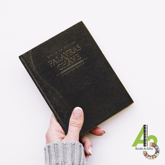 Lr18 Bíblia De Estudo Palavras Chave Luxo Grande - Cpad