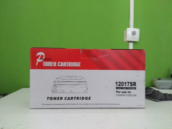 Toner Cartucho Lexmark E120