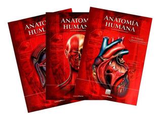 Anatomía Humana Tomo 1 - 3 Quiroz Colección Volúmenes Porrúa