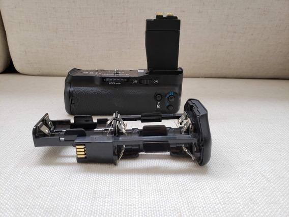 Battery Grip Original Canon Bg-e8 - Pouco Usado!