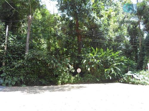 Imagem 1 de 6 de Terreno À Venda, Condomínio Iporanga - Guarujá. - Te0030